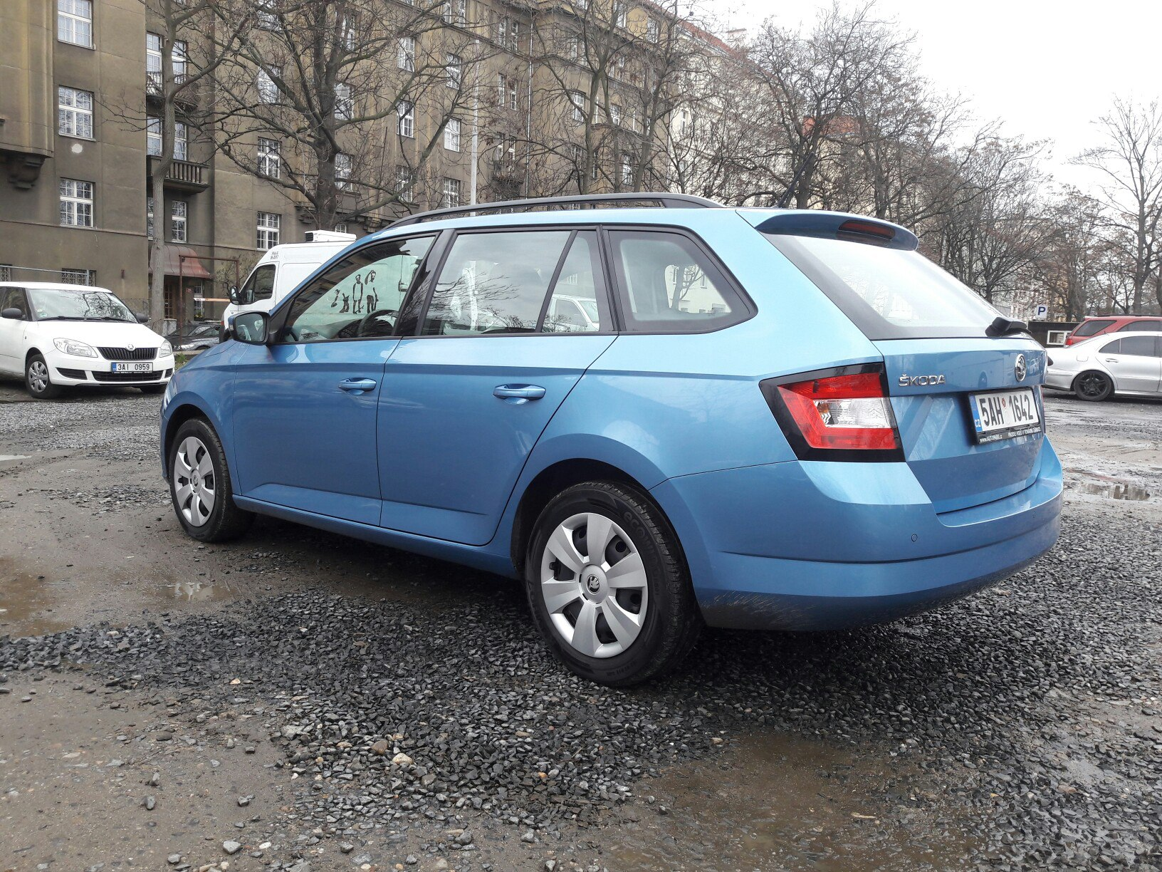 Rent Skoda Fabia combi NEW disel without a driver daily in Kiev and ...